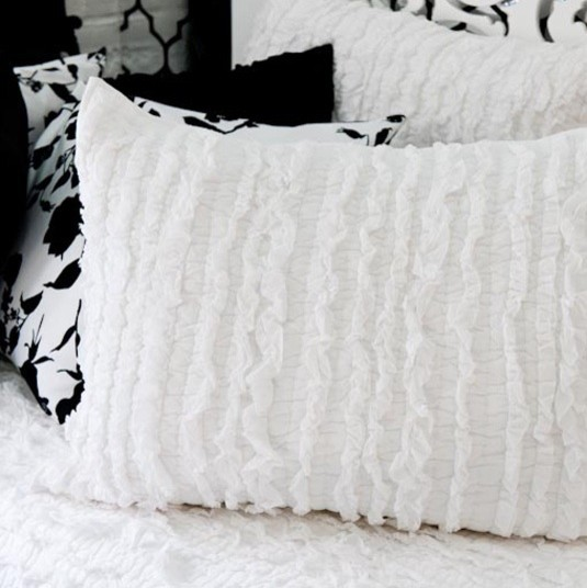 ribbon quilted sham eclectic-bedding
