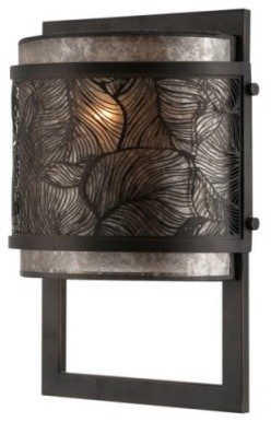 Quoizel Daly MCDL8801PN Wall Sconce - 8W in. - Palladian Bronze modern-wall-lighting