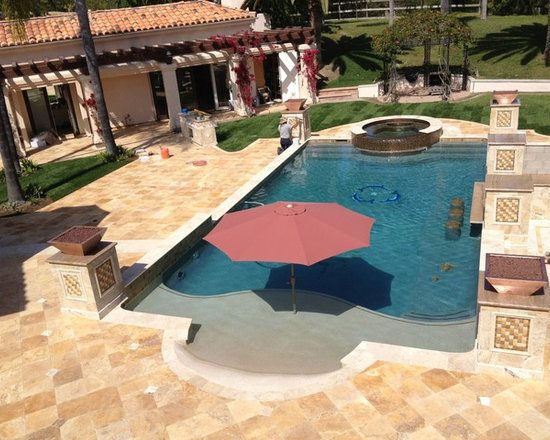 Pool accessories - Order a custom fire bowl or pot right now, have it for spring, enjoy it all summer long!