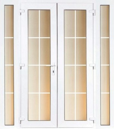 4ft georgian french and 2 narrow sidelite 1790mm wide for 4ft french doors exterior