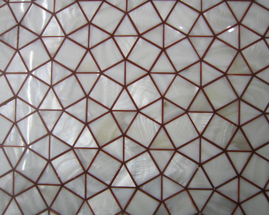custom shell mosaic tiles - visit www.dintin.com and contact us,we have complete range of natural mother of pearl mosaic tiles,also many designs have not been uploaded to houzz & our store,custom size and custom pattern welcome.worldwide shipping!