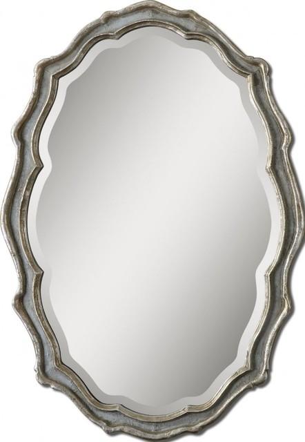 www.essentialsinside.com:  dorgali slate blue mirror contemporary-mirrors