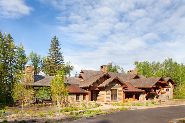 Whitefish Yacht Club Residence traditional-exterior