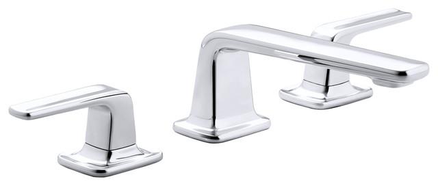 Per Se Widespread Basin Faucet Set contemporary-bathroom-faucets