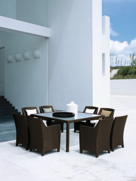 DEDON - Barcelona designed by Richard Frinier eclectic-patio-furniture-and-outdoor-furniture