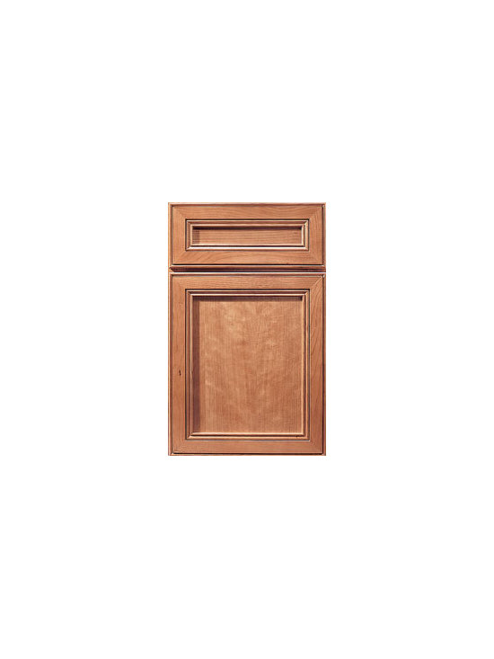 Cherry Door Styles from Wellborn Cabinet, Inc. - Harmony Cherry evokes sophisticated styling with a clean classical design. Its profile provides the perfect recesses for the rich glazes found in our specialty finish collection.
