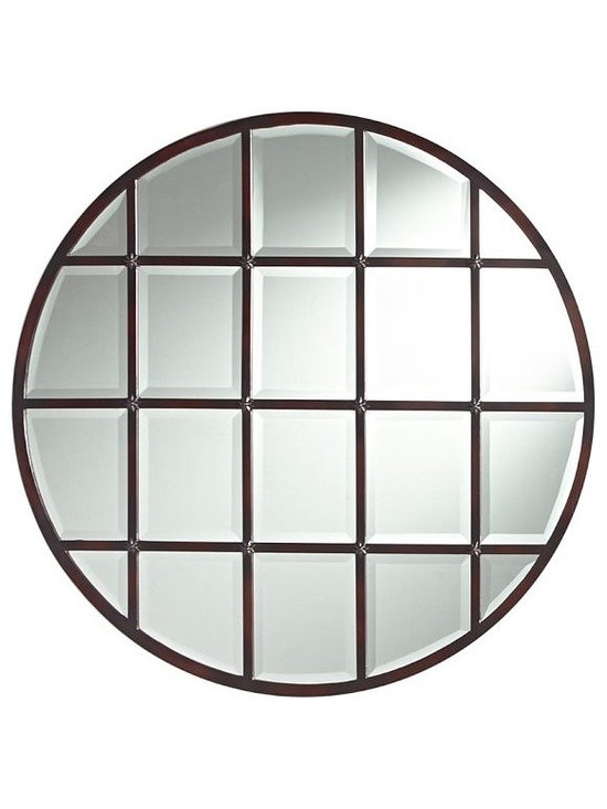 Eagan Multi-Panel Round Mirror -