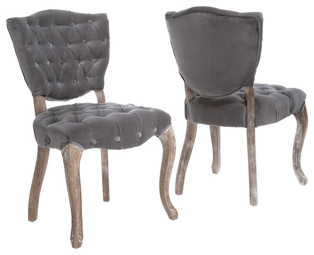 Violetta French Design Dining Chair (Set of 2) - Traditional ...