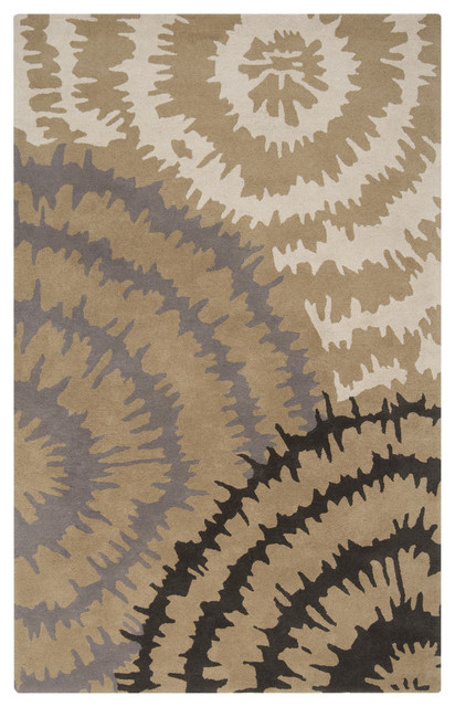 Surya Harlequin HQL-8007 9' x 12' Brindle, Gray Rug contemporary-rugs