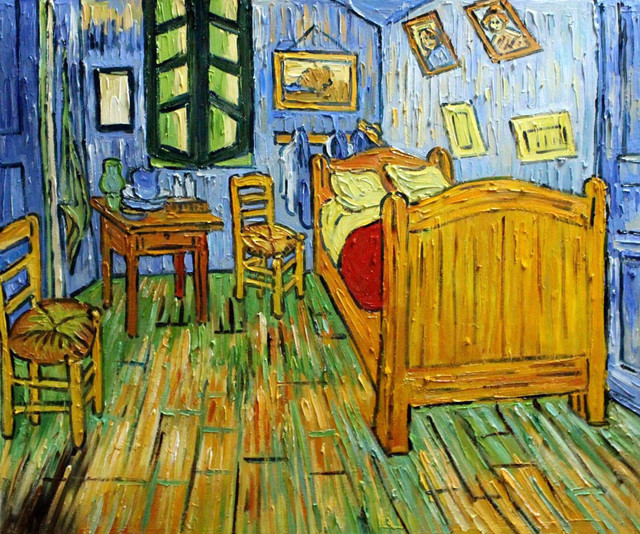 van gogh bedroom at arles modern prints and posters by