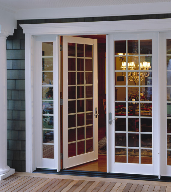 Patio doors traditional windows and doors los for Window and door company
