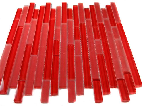 Tao Red Planet Glass Tile contemporary-tile