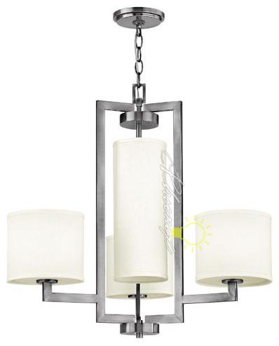 Hampton 4 Light Chandelier modern-chandeliers