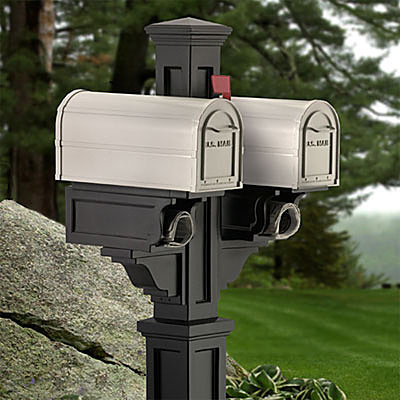 Rockport Mailbox Post contemporary-mailboxes