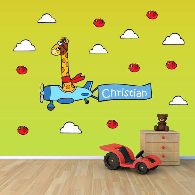 Vinyl wall decals for kids rooms modern kids wall decor orange county by stickerhub - Modern kids wall decor ...