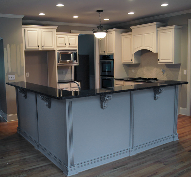 CCFF Kitchen Cabinet Finish II traditional-kitchen