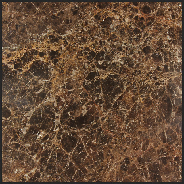 Dark emperador marble 12x12 tile modern wall and floor for 12x12 marble floor tiles