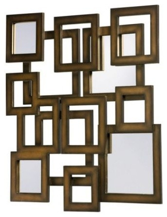 Wynn | Wall Mirrors | Wood Tone Mirrors eclectic mirrors