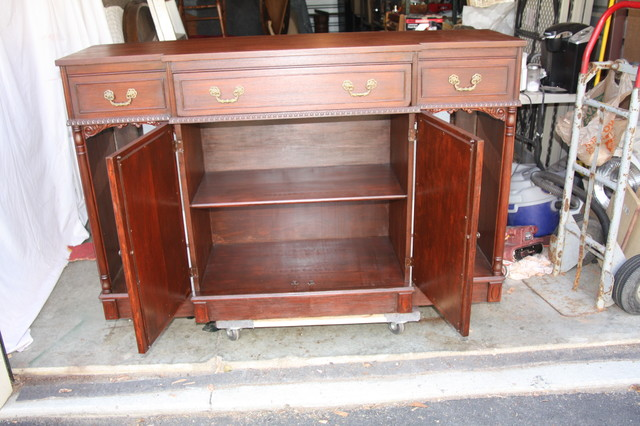 Vintage Wine Cabinet-Server-1930s buffets-and-sideboards