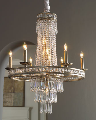 """Camella"" Chandelier  traditional-chandeliers"