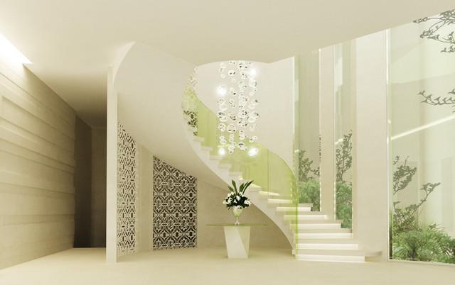 Private villa- Dubai contemporary-rendering