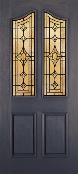 Jeld-Wen A890 Paint Surface Door Custom Finish Patina Caming transitional-front-doors