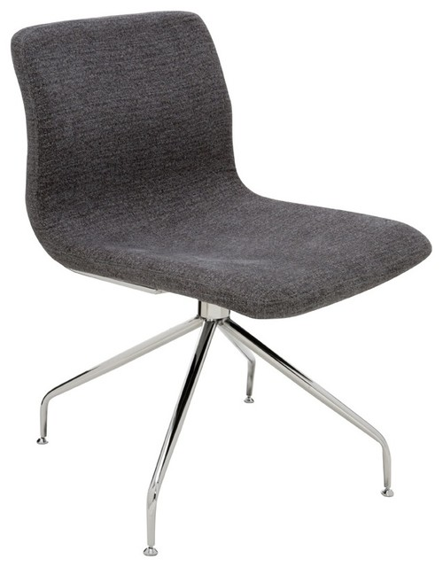 alta office chair with no casters modern office chairs by