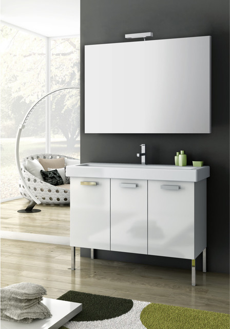 40 Inch Bathroom Vanity Set contemporary-bathroom-vanities-and-sink-consoles