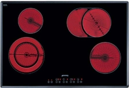 """S2772TCU 30"""" Smoothtop Electric Cooktop With 4 High-Light Radiant Elements  9 Po contemporary-cooktops"""