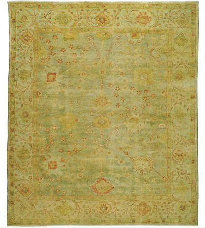 Safavieh Oushak Green Rug contemporary rugs