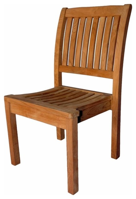Teak Stacking Chair Without Arms By Regal Teak
