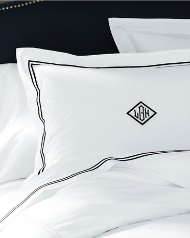 Frette Classic Hotel Percale Bedding traditional-bedding