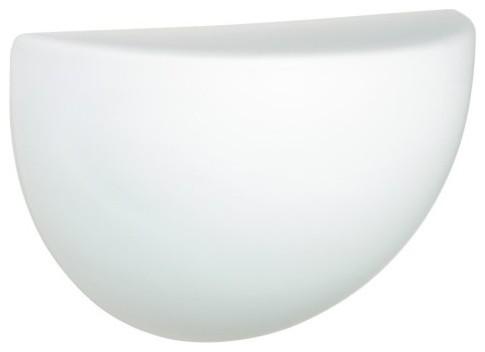 Besa 235507 Opal Matte Quatro Wall Light - 10.5W in. contemporary-wall-lighting