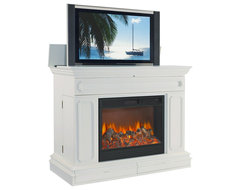 TVLIFTCABINET Remington Electric Fireplace contemporary-storage-and-organization