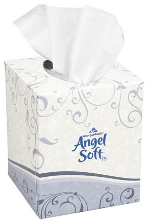 C-ANGEL SOFT PS CUBE BX FACIAL TISS 96SH WHI 36 household-cleaning-supplies