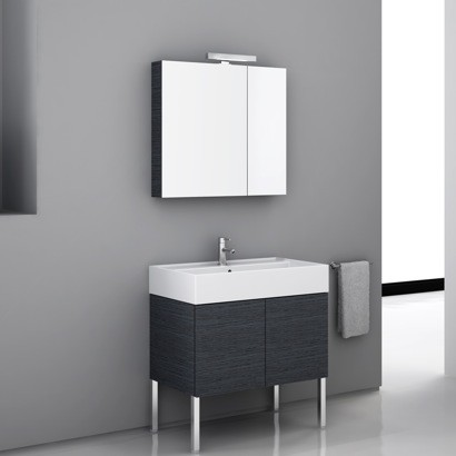 High end vanity set with medicine cabinet contemporary for High end vanities