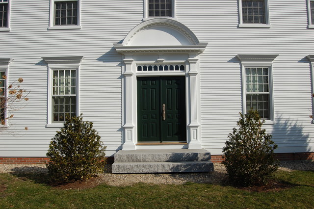 Cch new federal one traditional front doors boston for Front doors for colonial homes