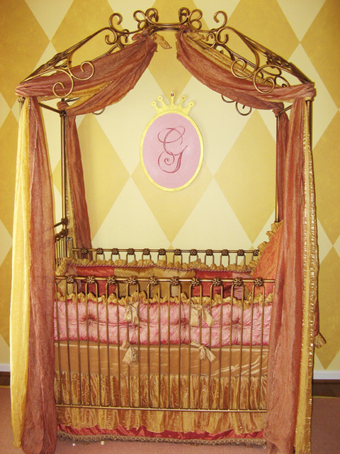 Moroccan Princess Nursery eclectic kids