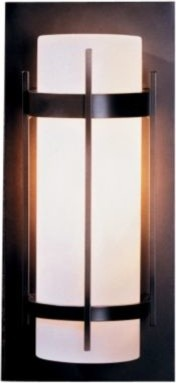 Banded Aluminum Outdoor Sconce by Hubbardton Forge - OPEN BOX RETURN wall-sconces