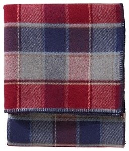 Eco-Wise Plaid Easy-Care Blanket traditional-throws