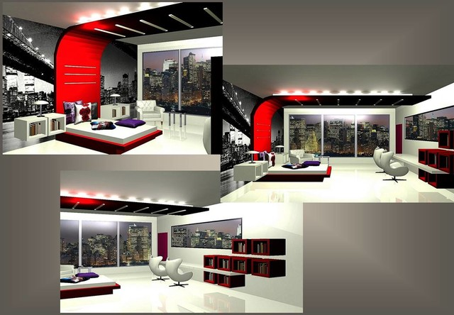 Portfolio projects bedrooms contemporary