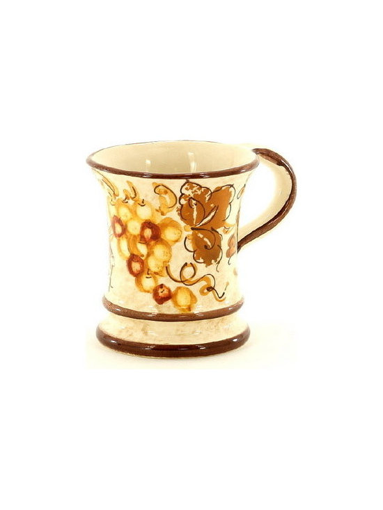 Artistica - Hand Made in Italy - Vinaria: Mug - The Vinaria is an exclusive design for Artistica by the Umbrian renown artist Rale of Opera Nova.