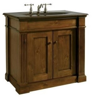 """KOHLER K-2455-F9 Thistledown 36"""" Vanity - Traditional - Bathroom ..."""