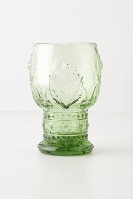 Helianthus Goblet contemporary-everyday-glassware