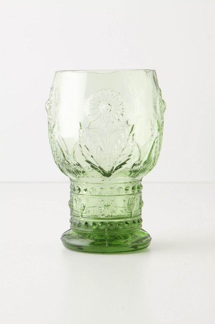 Helianthus Goblet traditional glassware