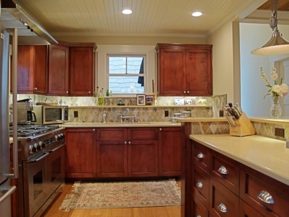 Alameda Renovation/Addition Five Star Energy traditional-kitchen