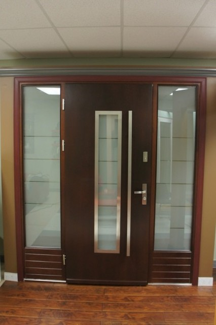 Modern exterior doors modern new york by liberty for Modern front doors for homes