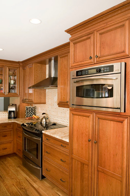 Project in Danbury, CT traditional-kitchen