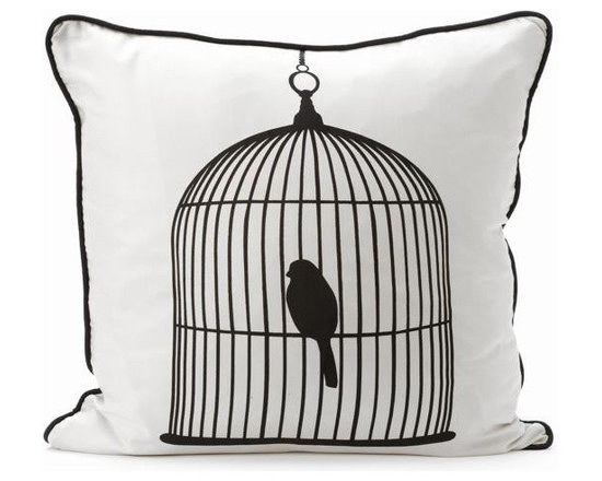 Ferm Living Birdcage Pillow - With Ferm Living Pillows it is easy to create a new look and change the style in a room in a matter of minutes.