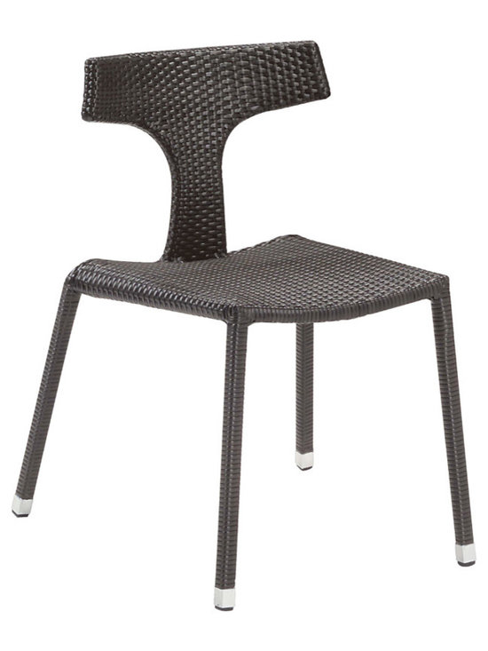 Isis Wicker Side Chair By Emuamericas - If you wish to feel the zephyr on your face or listen quietly to the chirping of birds around, you should take a companion along to relax in style and tranquility. The Isis Wicker Side Chair is a perfect companion for an ideal, private outdoor trip or for a private garden breakfast. The Isis Wicker Side Chair is sourced from the well-known brand Emu. Like any other outdoor furniture from Emu, the Isis Wicker Side Chair is very admirable for its simple Italian design. The design focuses on simple utility.